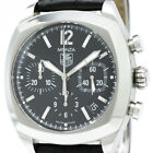 Polished TAG HEUER Monza Chronograph Steel Automatic Mens Watch CR2113 BF315802