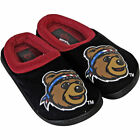Montana Grizzlies Youth Slide On Slippers Black Maroon College