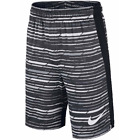 New Nike Boys Basketball Shorts 4 Small Medium and Large Black and Gray