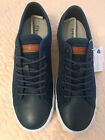GEOX Respira Mens Navy Blue Comfort Suede Leather Shoes Size 7 US NIB