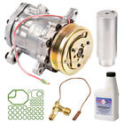 New AC Compressor  Clutch With Complete A C Repair Kit Fits Geo Metro