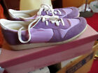 65 N ON BOX Low True Vtg 80s Purple BEACON BEES Casual Shoes SUEDE NYLON