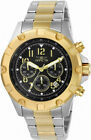 Invicta Specialty 13616 Mens Round Black Chronograph Date Analog Watch