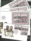 SOUTH AFRICA sc519 21 521a SHEET X4 1979 ON FDCS