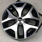 19 Kia Sportage OEM Wheel 2017 17 Machined Charcoal Factory Alloy Rim 74750