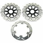 1997-2003 For Honda GL 1500 Valkyrie GL F6C Set Front & Rear Brake Discs Rotors