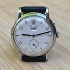 Vintage ULYSSE NARDIN watch, 1950's, date & day, sub-second dial, very rare !
