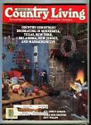 VINTAGE COUNTRY LIVING MAGAZINE  DECEMBER 1985 BACK ISSUE ~FARMHOUSE READING