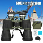 Day Night 60x50 Military Army Zoom Binoculars HD Optics Hunting Camping USA