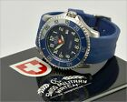 Men's Automatic SWISS MILITARY WATCH, Stainless Steel 20ATM Watch in Box, Papers