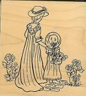 GREAT IMPRESSIONS Rubber Stamp Woman  Girl MOTHER  DAUGHTER Mothers Day Love