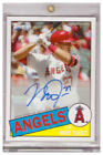 2016 Topps Transcendent VIP Party Auto MIKE TROUT Angels MT-1985 AUTOGRAPH 01 15