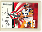 2000 Donruss Signature Series Red KURT WARNER Autograph - Only 75 Signed Cards!