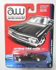 1966 GLOSS BLACK CHEVY EL CAMINO AUTO WORLD DIE-CAST 1:64 CAR SPECIAL EDITION
