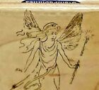 Stampabilities D1033 Small Fairy Rubber Stamp Mounted
