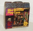 1980 REMCO MINI MONSTERS WITH PLAY CASE  FRANKENSTEIN DRACULA WOLFMAN
