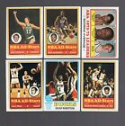 1973 74 Topps Basketball Set overall clean