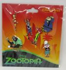 Disney Trading Pins ZOOTOPIA  NICK JUDY FLASH OTHERS Booster Set of 6