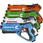 BCP Set of 4 Kids Laser Tag Blasters w 4 Settings Lights Sounds