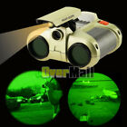 Night Vision 4 x 30mm Surveillance Pop up Light Scope Telescope Binoculars USA