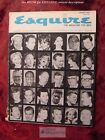 ESQUIRE January 1963 FEDERICO FELLINI JOHN UPDIKE +++