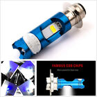 16W Motorbike Front Headlight 6000K White P15D H6 COB LED Hi/Low All-In-One Bulb