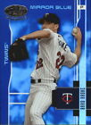 2003 TWINS Leaf Certified Materials Mirror Blue 103 Brad Radke 50