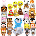 SILVERFEVER Plush Soft Animal Beanie Hat For Kids, Parties, Photobooths, Games