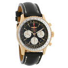 Breitling Navitimer 01 18K Rose Gold Mens Auto Watch RB012012/BA49-435X