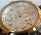 Clean S/S Men's Wenger Swiss Military Chronograph Watch 79131 Original Band
