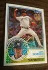 Luis Severino 2018 Topps Chrome Silver Pack 1983 Refractor Yankees