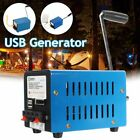 USB Hand Crank Emergency Power Generator SOS Camping Survival Charger Outdoor