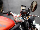 Motorcycle Bar End Mirrors Fold Away Design T6061 Billet Anodize KTM w 7 8 bars