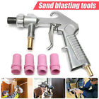 8in1 Sandblaster Gun Air Siphon Sand Blasting Gun & Iron / Ceramic Nozzles Kit