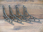 Lot/Set 4 Antique-Style Cast Iron Classic 8