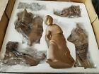 NEW HOLY NIGHT NATIVITY BY DONNA WEAVER RUSTIC FARMHOUSE CHRISTMAS 6 PC SET