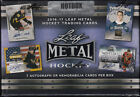 2016 17 Leaf Metal Hockey Factory Sealed Hobby HOT Box - 7 Parallels Per Box