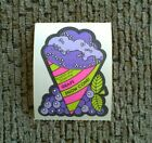 Vintage Scratch and Sniff Stickers Mello Smello Grape Snow Cone EXC STRONG