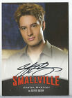 2012 Smallville Seasons 7-10 Justin Hartley as Oliver Queen Auto Autograph A2