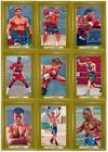 2011 Ringside Boxing Round 2 Turkey Red Gold 64-Card Insert Set (94-157)
