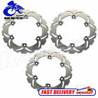 For Honda Interceptor 500 VF500F  84 85 86 87 Front Rear Brake Rotors Discs Set