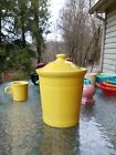 FIESTAWARE FIESTA  MEDIUM CANISTER CROCK sunflower yellow NEW