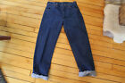 Vintage Wrangler Blue Jeans Denim Mens workwear Pants USA Ideal Zipper