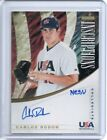 2012 Panini Elite Extra Edition Baseball 18U National Team Autographs Guide 36