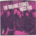 ROLLING STONES Miss You Far Away Eyes 45rpm + Picture Sleeve