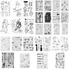 New ArrivalTransparent Silicone Clear Rubber Stamp Cling Diary Scrapbooking DIY