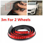 DIY 3M Widen Rubber Car Wheel Tire Eyebrow Protector Strip Fender Flare Mudguard
