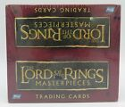 Topps Lord of the Rings Masterpieces Hobby Trading Card Box NEW SEALED Rare LOTR