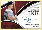 2016 Immaculate Collection Hitters Ink Red #MM Mark McGwire Autograph #06 10