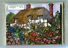 6 ASSORTED NOTECARDS ~ OLD ENGLISH COUNTRY COTTAGES  ~ FREE SHIPPING